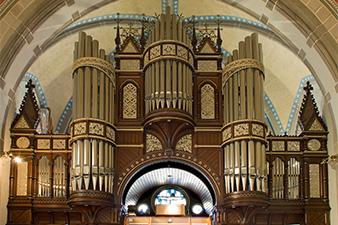 Orgel, ev. Hauptkirche Rheydt